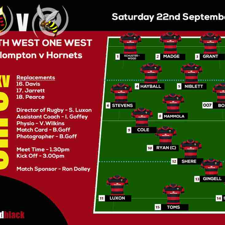 Team Selection for Saturday