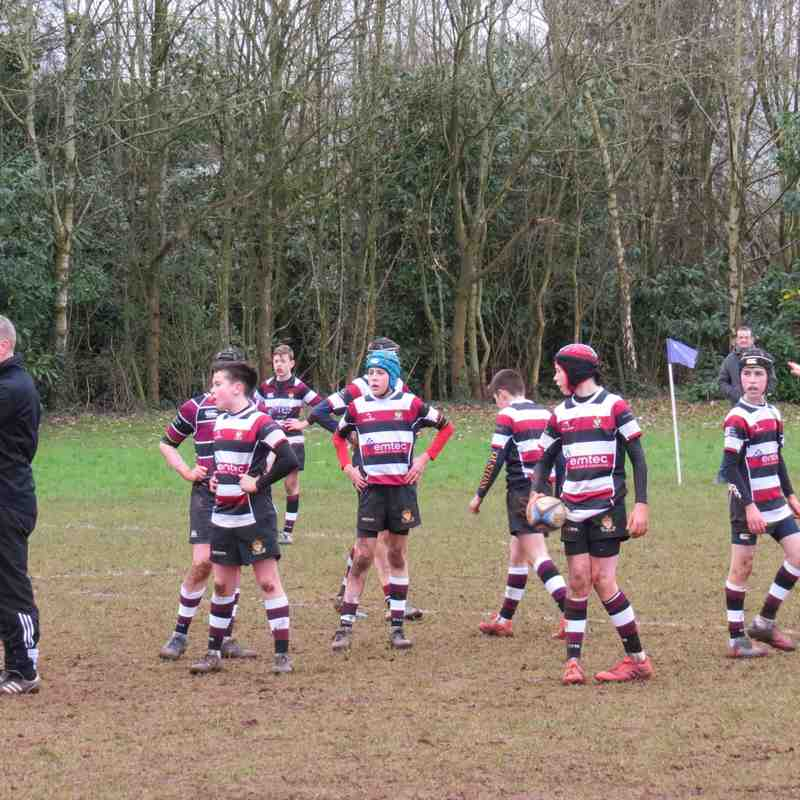 Cleve U14 Vs Keynsham 18/2/18 (courtesy Jon Harrison)