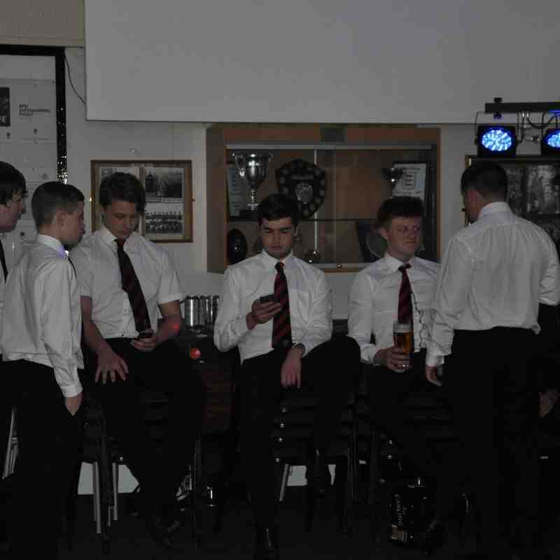 Under 16's Presentation Night 2016.