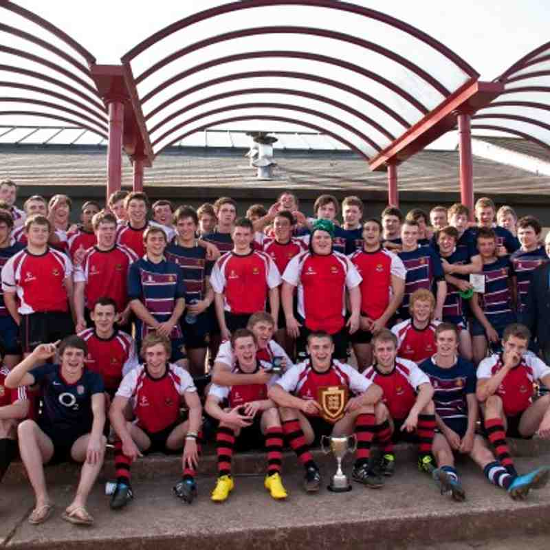 Glos. U19s Plate and Cup Finals 10 April 2011