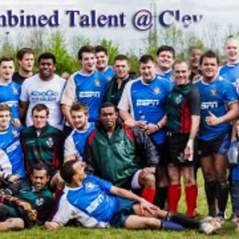 Care 4 Casulaties : Charity Day at Cleve RFC  5 May 2012