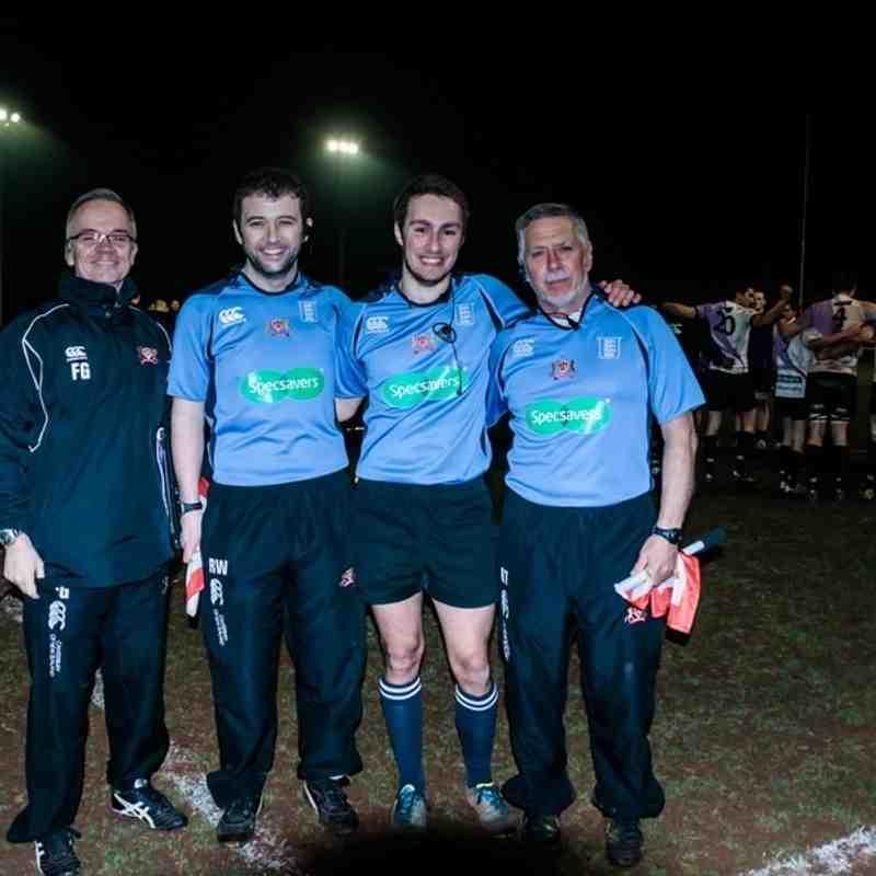 17 Mar 15 Cleve RFC v Clifton RFC Semi Final Bristol & Dist Combination Cup