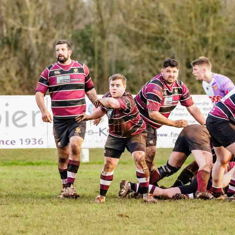 23 Jan 16  Cleve RFC 3s v Clifton RFC 3s