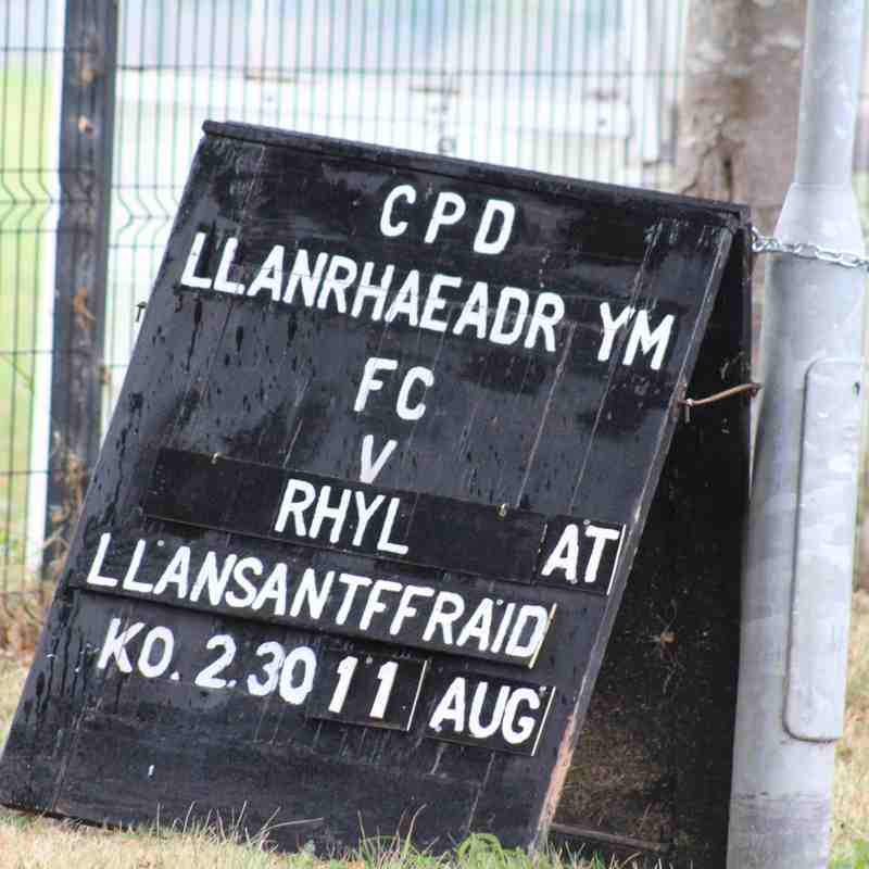 Llanrhaeadr v Rhyl