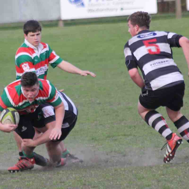 Burntwood Colts 14-10 Veseyan Colts
