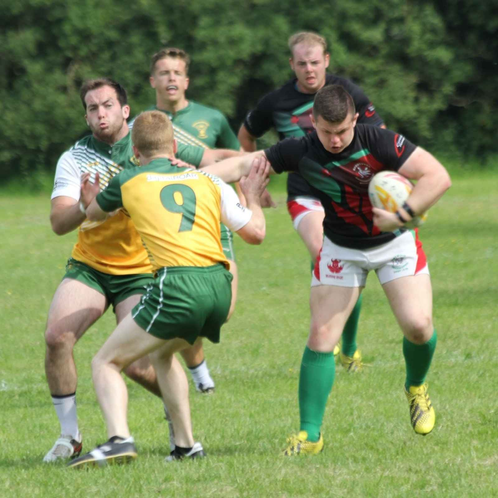 Burntwood Grasshoppers at Rugeley 7s