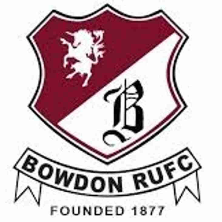 First XV Away at Bowdon This Weekend
