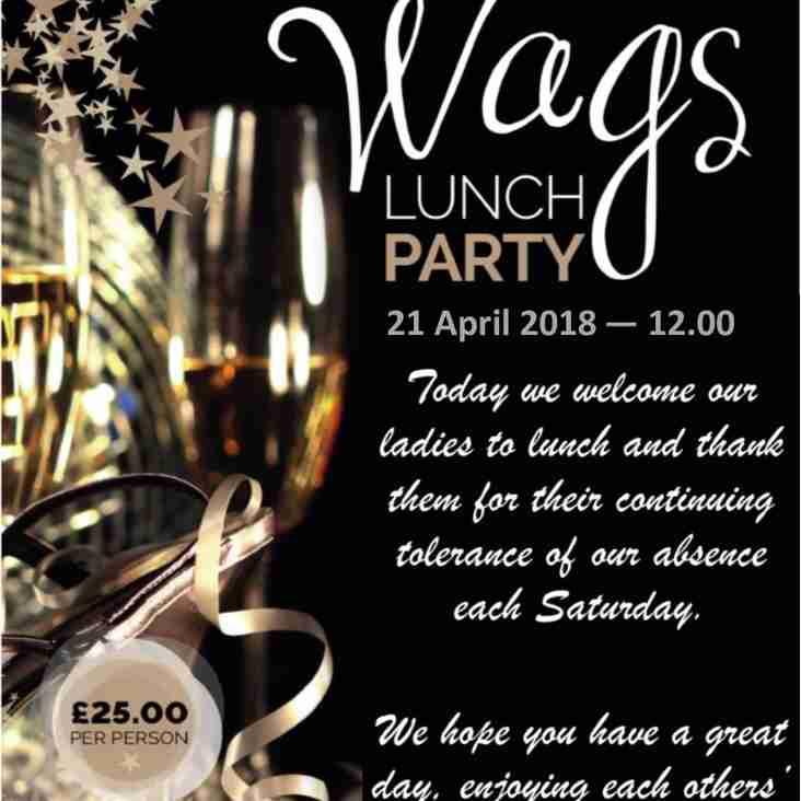 WAGS LUNCH PARTY