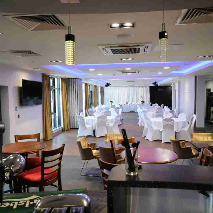 Pre-Match Lunches Available to All Members and Guests