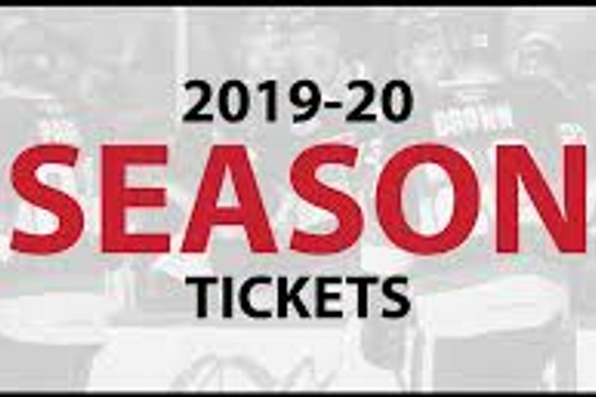 2019/20 Season Tickets Now on Sale