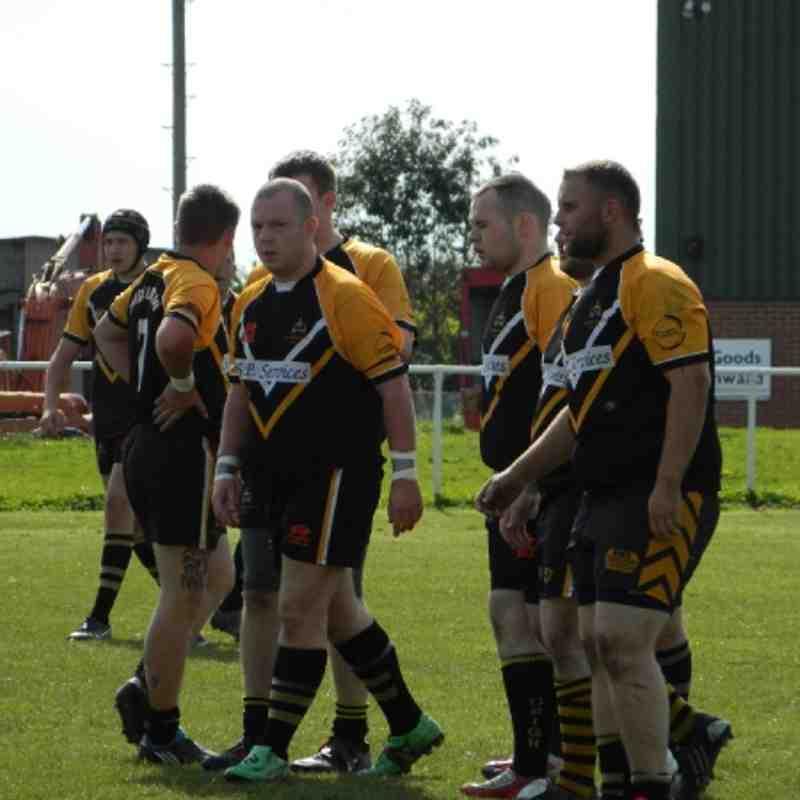 Drig A V Hunslet Old Boys A on Drig Moor - Pre season friendly