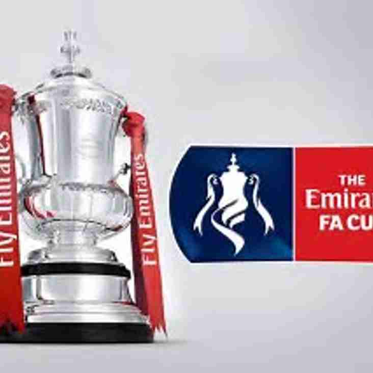 FA CUP: CHANGE OF OPPONENT
