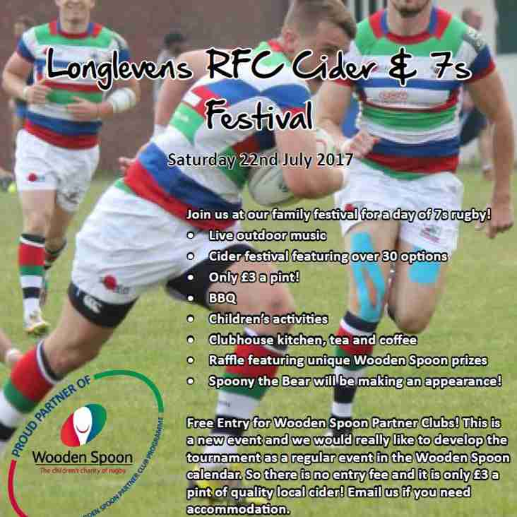 The Cider and 7s Festival is Back!