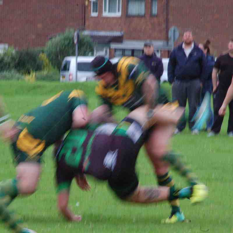 "Open Age ""A"" v Burtonwood Warrington Cup"