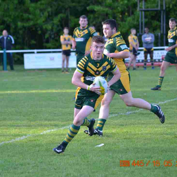 WOOLSTON ROVERS UNDER 18s 16 LEIGH MINERS RANGERS UNDER 18s 22