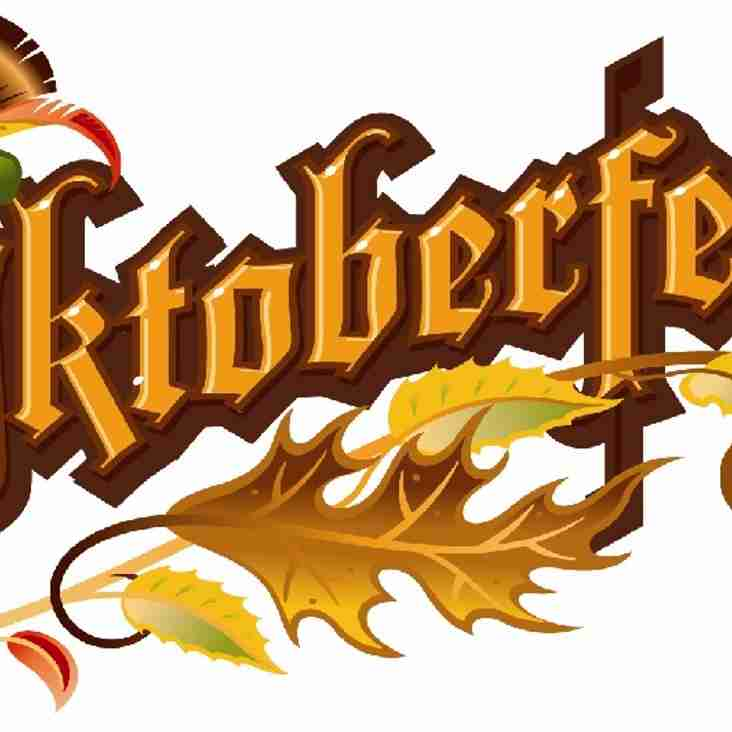 It's Back - Old Gs Late Late Oktoberfest - Saturday 10th November