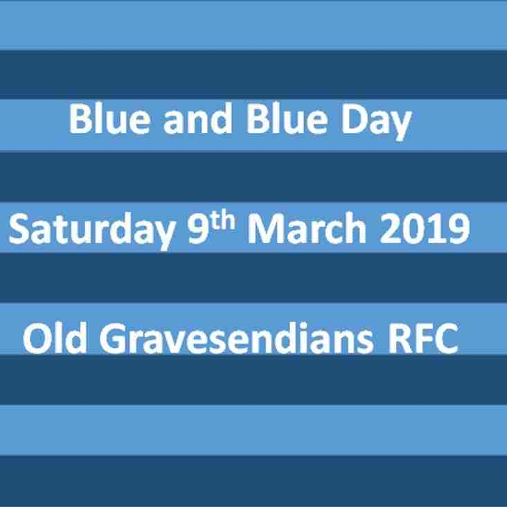 Old Gs Blue and Blue Day 2019 - Saturday 9th March