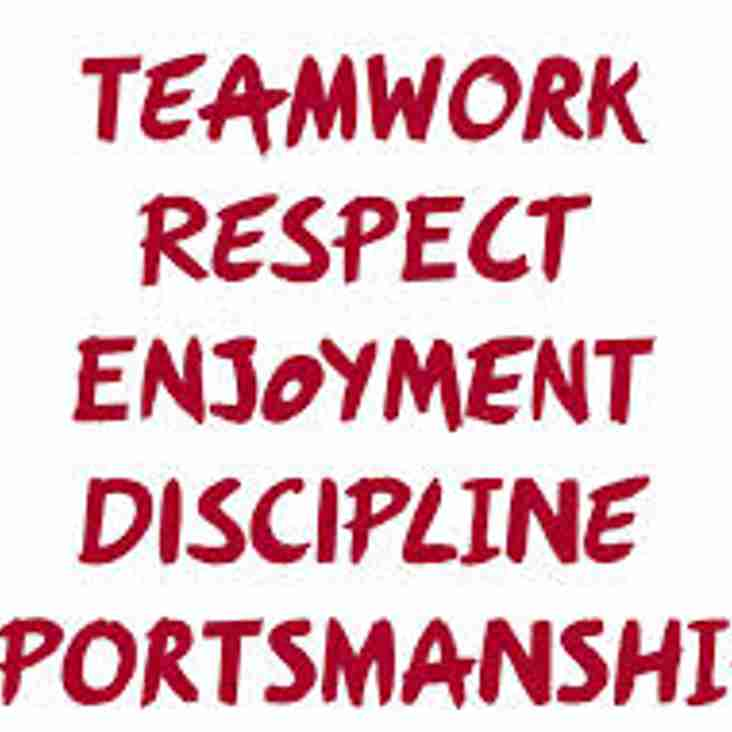 Core Values of Rugby