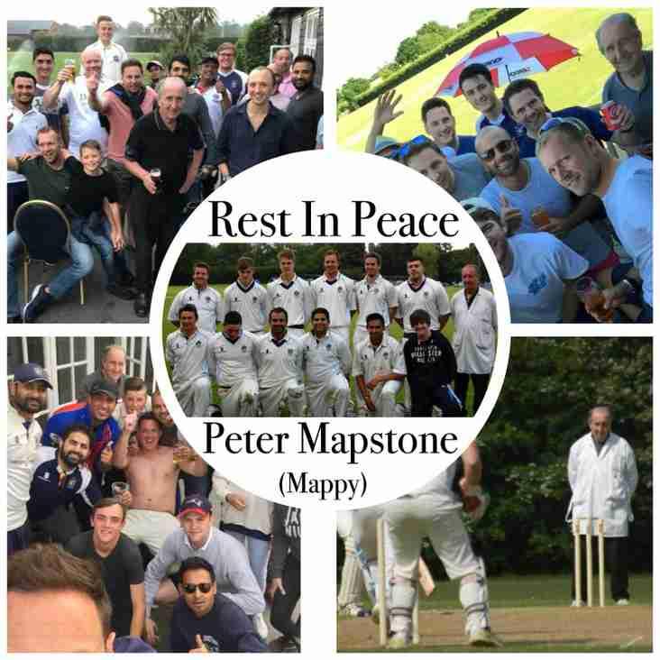 Peter Mapstone RIP
