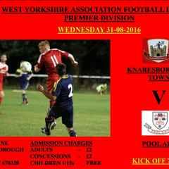 Wednesday Nights Fixture At Knaresborough Town