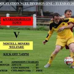 Tuesday Nights Fixture At Knaresborough Town