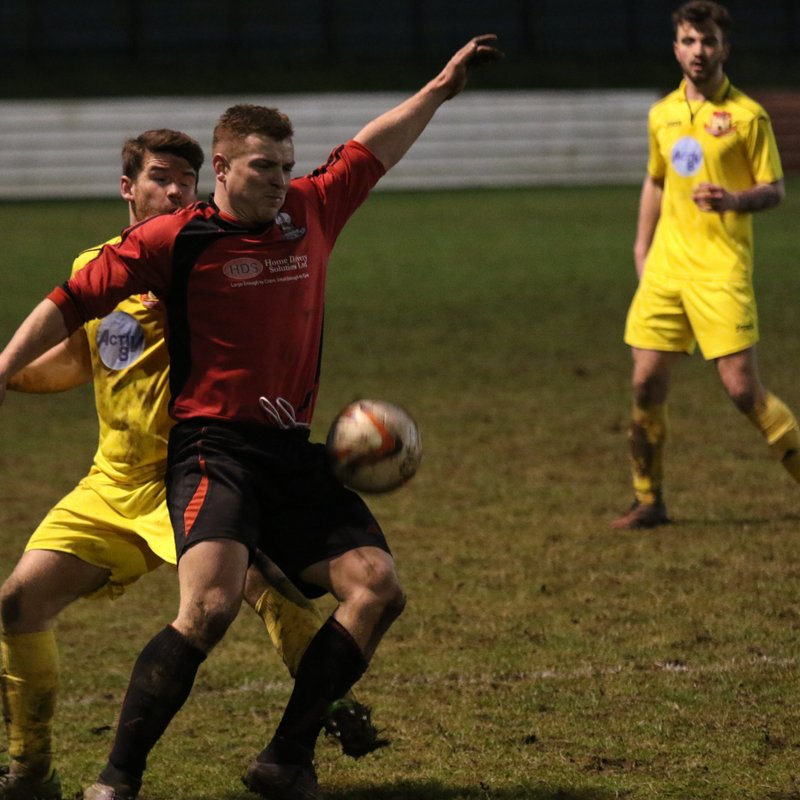 21st January - Shirebrook Town 1 - 2 Knaresborough Town