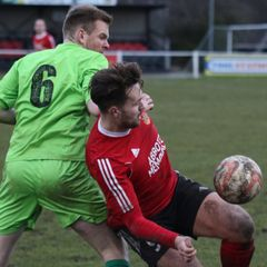 Knaresborough Town 1:1 Selby Town - NCEL Division One - 08-01-2017 - Attd 132