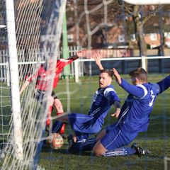 Glasshoughton Welfare 0:1 Knaresborough Town - NCEL Division One - 04-02-2017 - Attd 95
