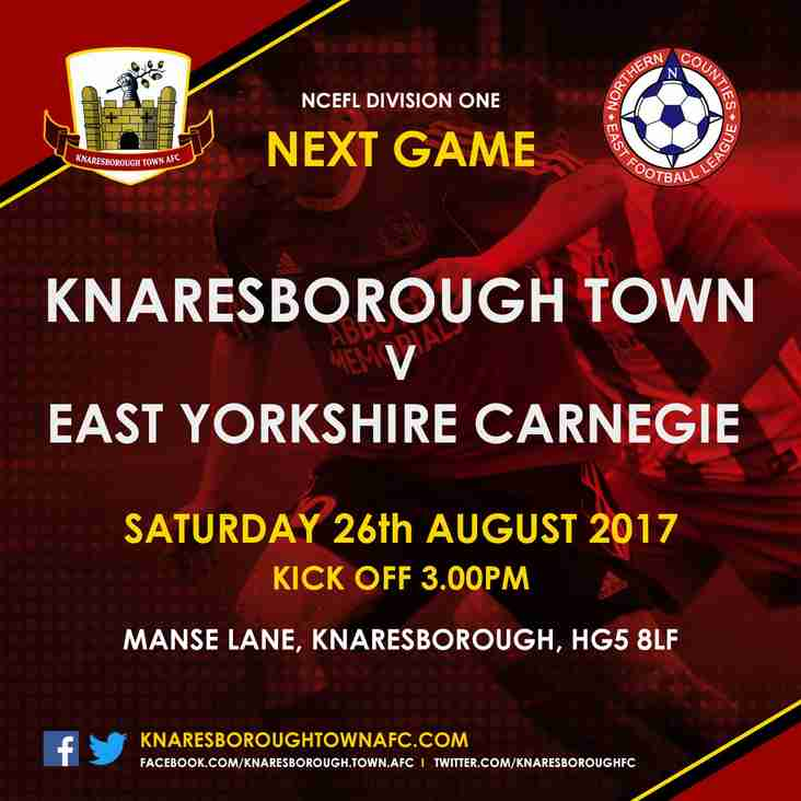 Next Fixture For The First Team