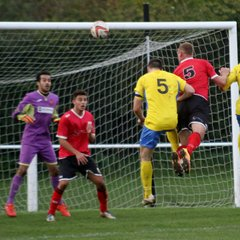 Knaresborough Town 2:0 Dronfield Town - Toolstation NCEL Division One - 14-10-2017 - Attd 144