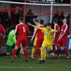 Selby Town 2:1 Knaresborough Town - Toolstation NCEL Division One - 26-04-2018 - Attd - 88