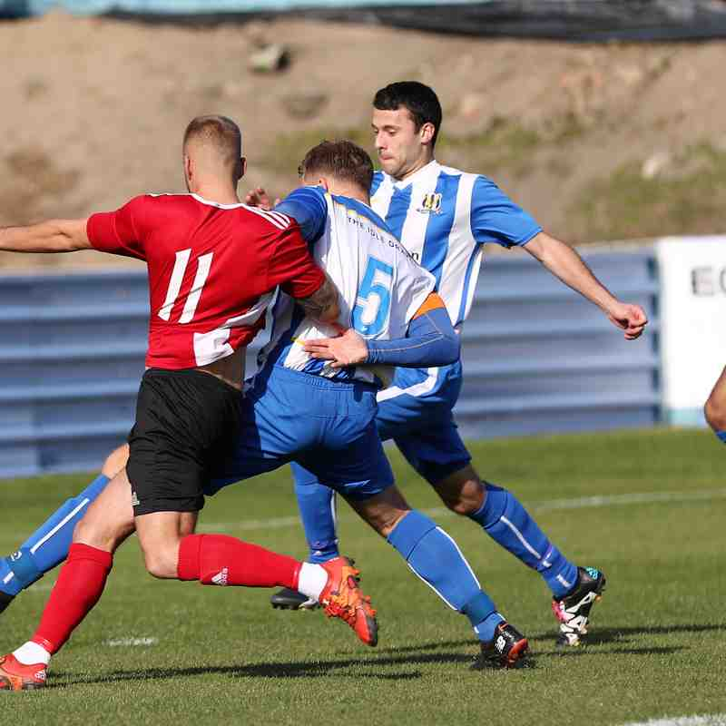 Eccleshill United 0:3 Knaresborough Town - Toolstation NCEL Premier Division - 29-09-2018 - Attd 119