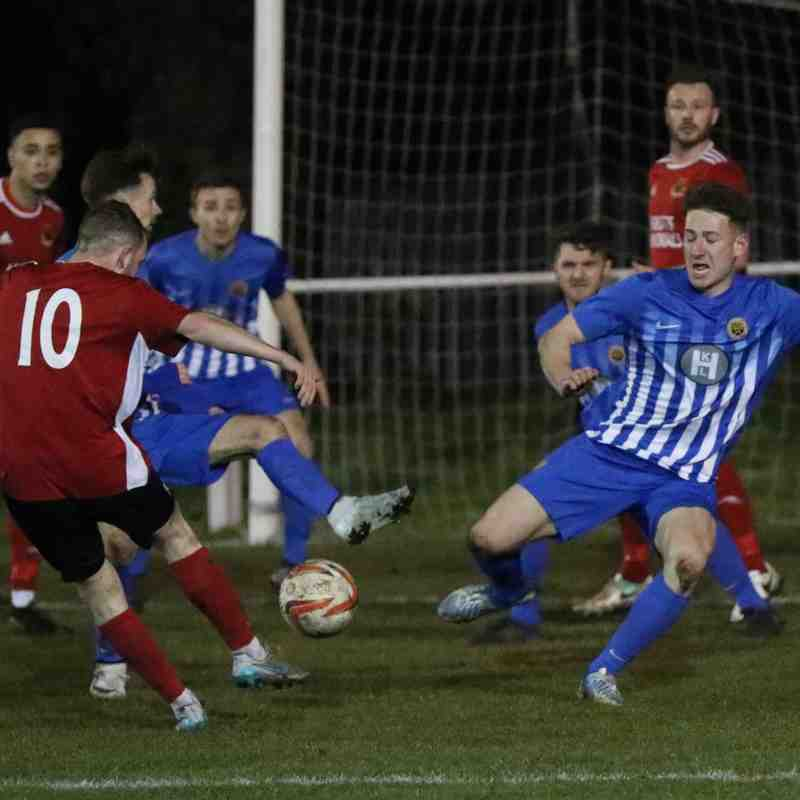 Knaresborough Town 1:1 Staveley Miners Welfare - Toolstation NCEL Premier Division - 12-02-2019 - Attd 115