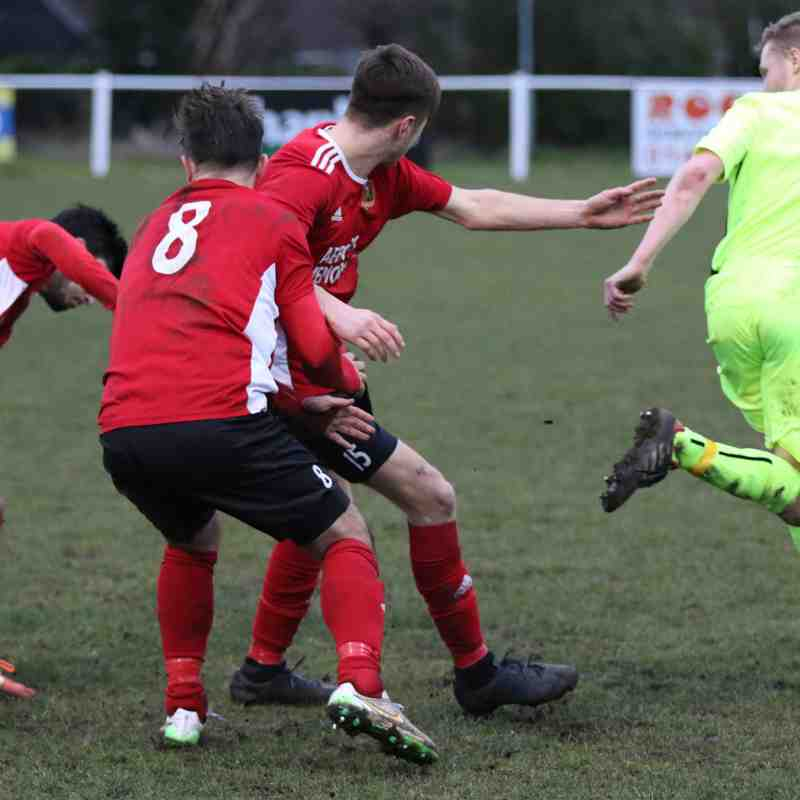 Knaresborough Town 0:5 Thackley - Toolstation NCEL Premier Division - 16-02-2019 - Attd 179
