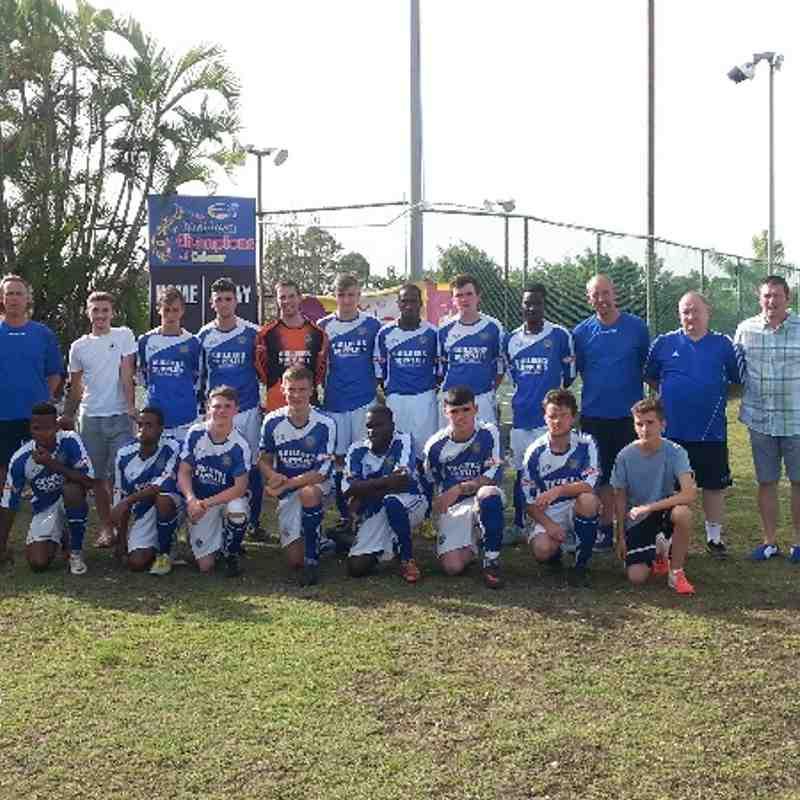 U23s Barbados Tour