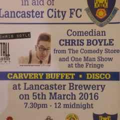 LCFC Comedy Night - Saturday 5th March