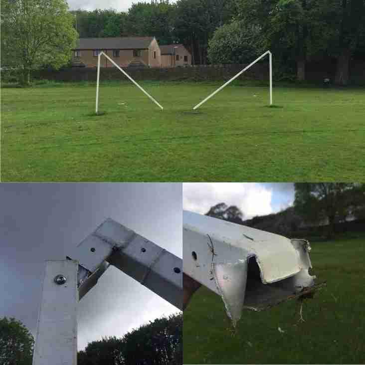 News: Youth Team Goalposts Vandalised
