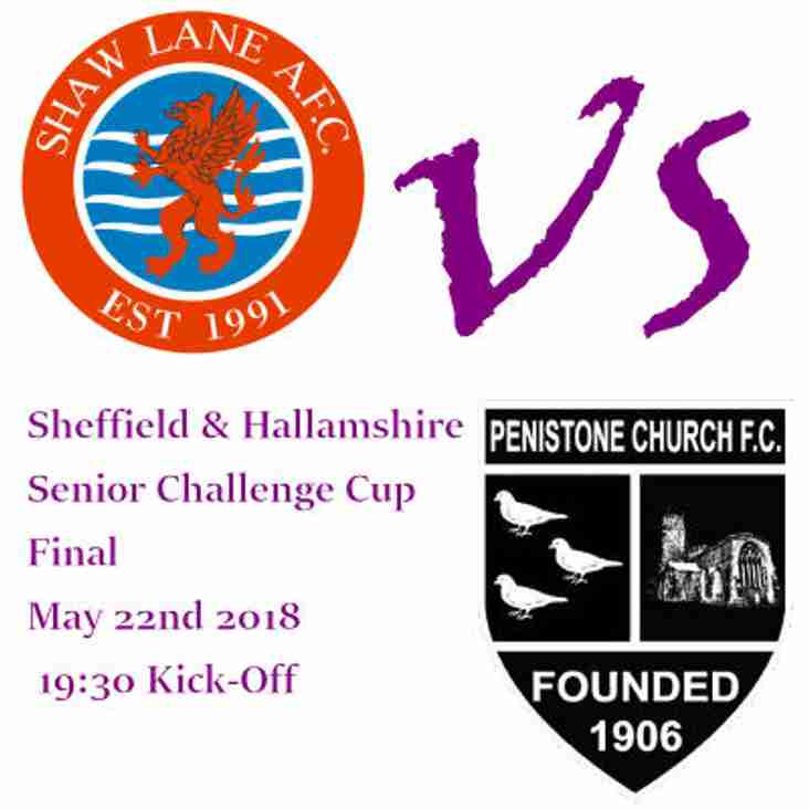 Penistone Church FC - Cup Final - Preview