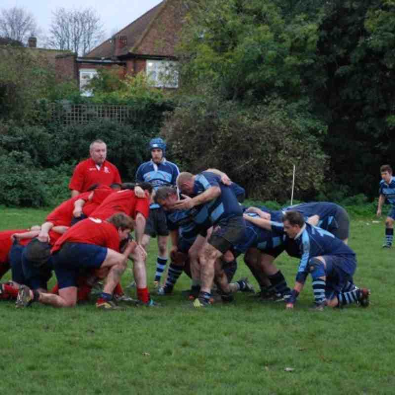 2nd XV v Aylesford 13-11-10