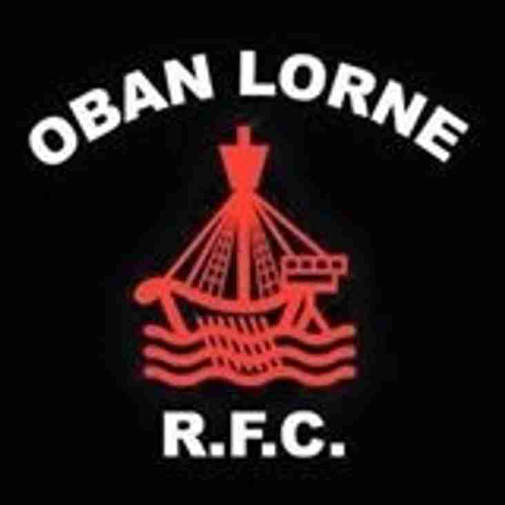 Sat. 13th August - Harris welcome OBAN LORNE RFC to Elliot Rd