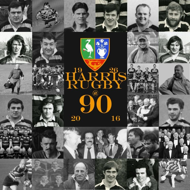 Just a reminder to everyone 'involved' with Harris Rugby Club that the Club's 90th Anniversary Dinner at West Park is creeping up on us. It is being held on Saturday November 5th.