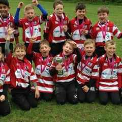 MKRUFC Under 10's Win Aylesbury A Tournament
