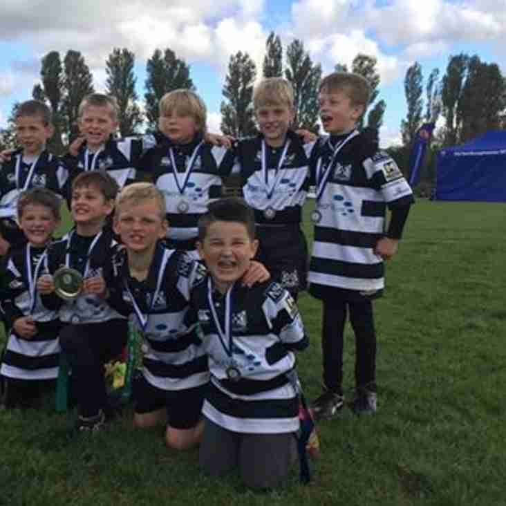 Under 8's Joint First at Earnie Dalby Tournament