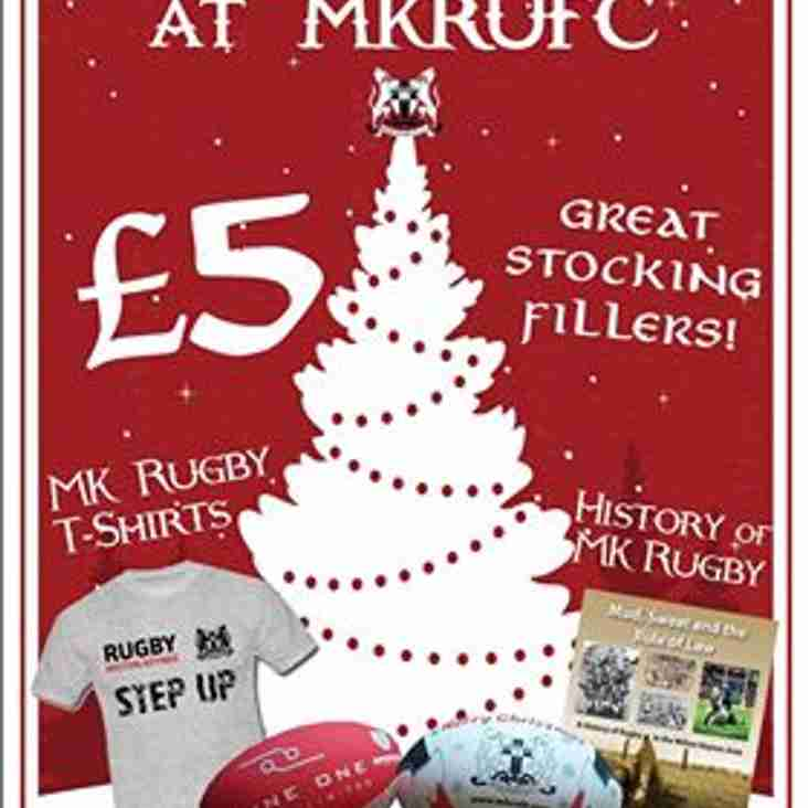 Christmas has Arrived at MKRUFC