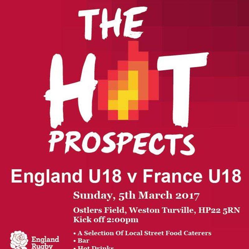 England U18 vs France U18