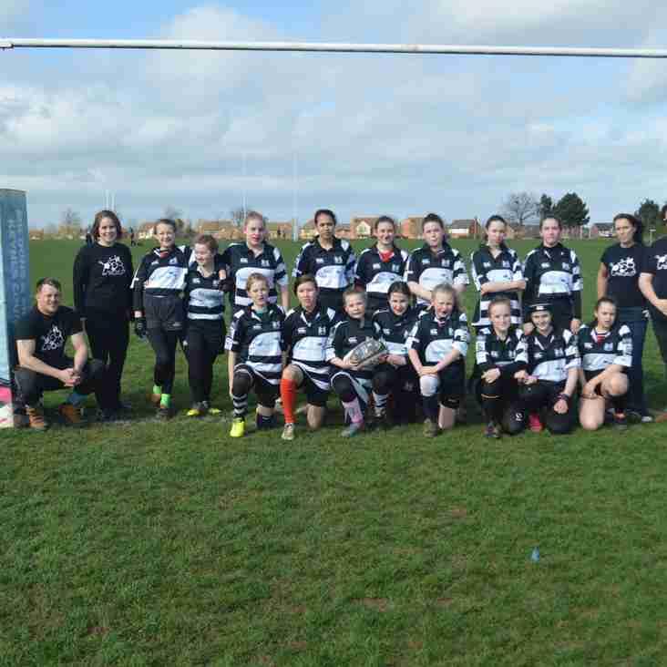 Girls Rugby @ MK