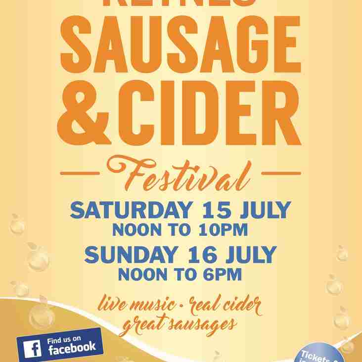 Sausage and Cider Festival is Back