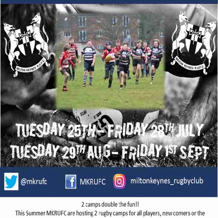 Summer Rugby Camp 2017