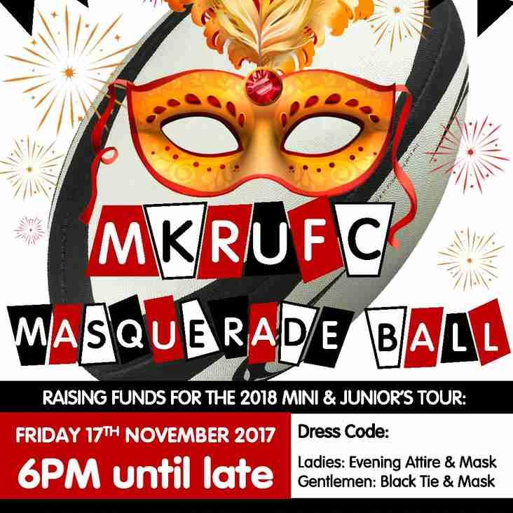 MKRUFC Masquerade Ball 2017