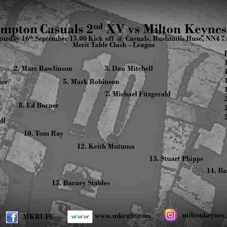 Northampton Casuals vs MK 2s